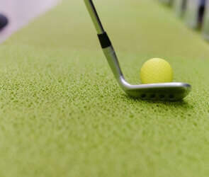 Искусственный газон для полей для гольфа