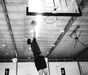 Польза баскетбола для детей и каучуковая площадка!