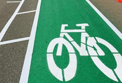 Напольное покрытие для велосипедных дорожек