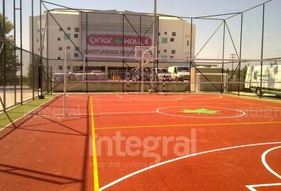 Многоцелевые спортивные площадки