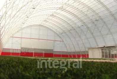 Крытые поля с искусственным покрытием