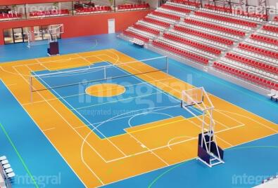 Крытый спортивный зал