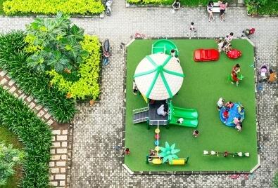 Искусственные газоны для детской площадки