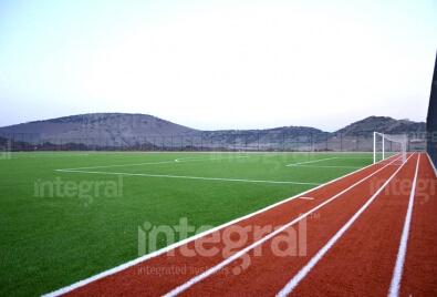 Синтетическое травяное поле