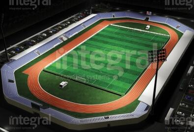 Искусственное покрытие для стадиона