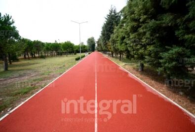 Каучуковое покрытие для дорожки для ходьбы