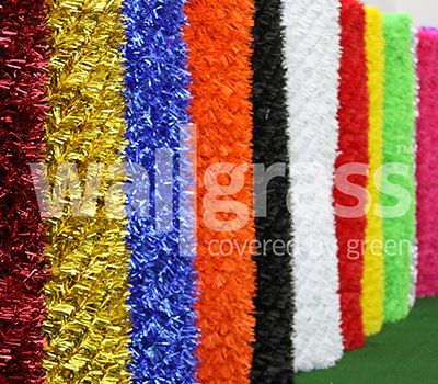 Цветные ограждения из искусственной травы